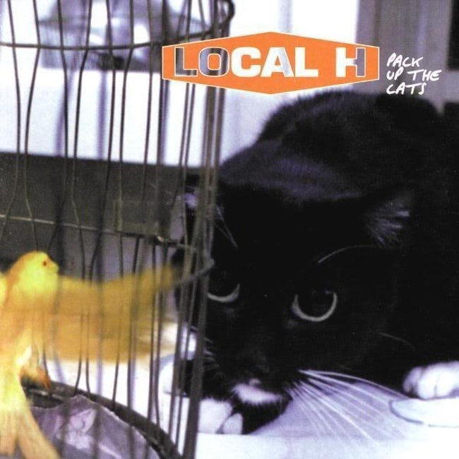 album cover - Cat - L.OCAL H PACK uP THE CATS