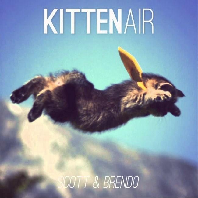 album cover - Sky - KITTENAIR SCOTT& BRENDO