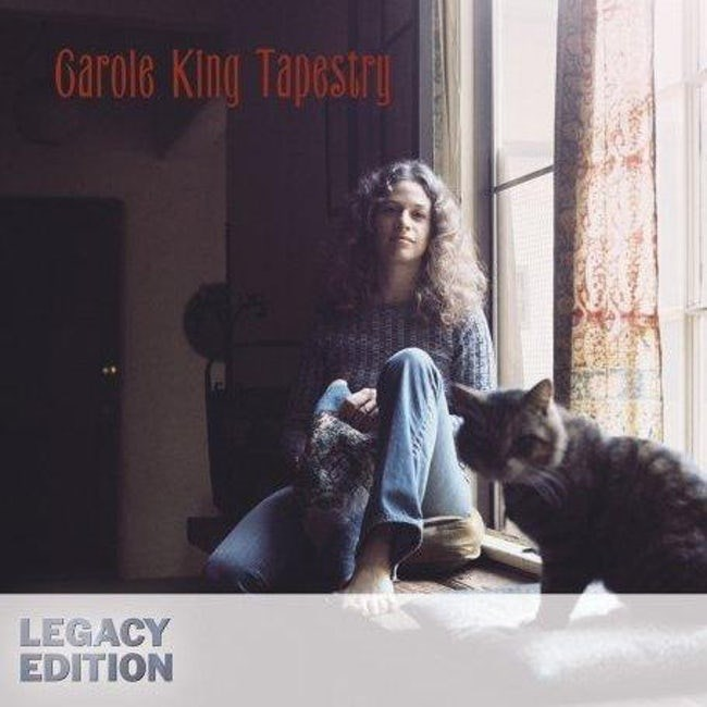 album cover - Cat - Garole King Tapestry LEGACY EDITION