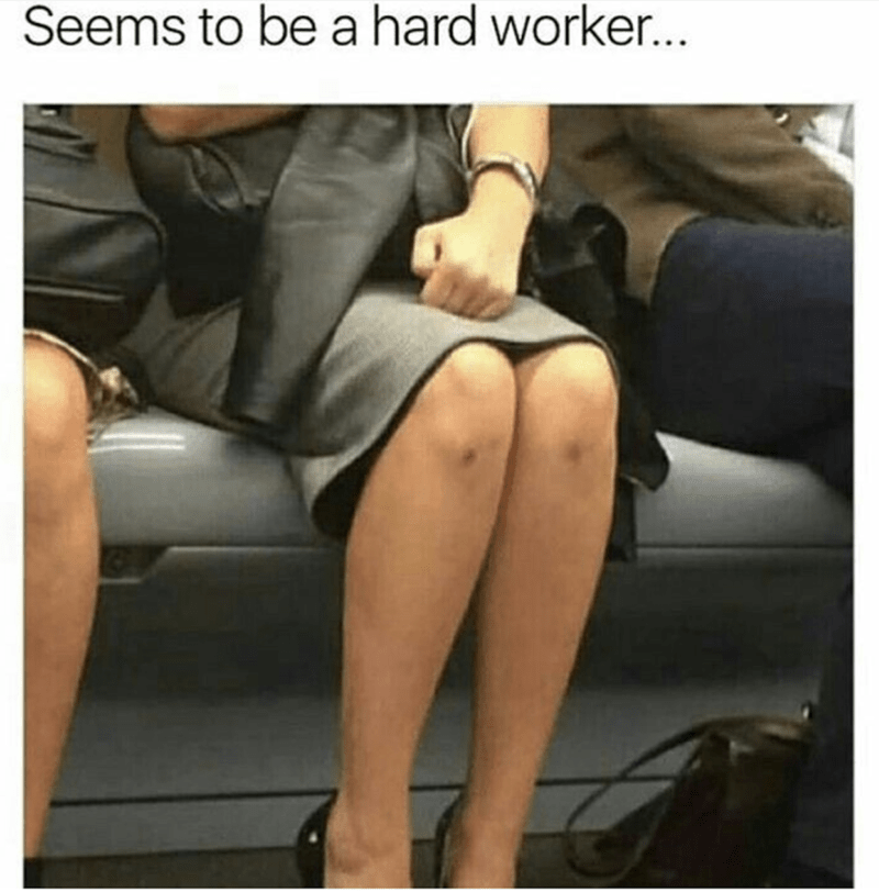 Leg - Seems to be a hard worker...