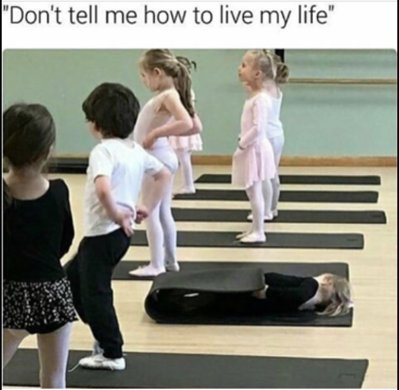 """Ballet - """"Don't tell me how to live my life"""""""