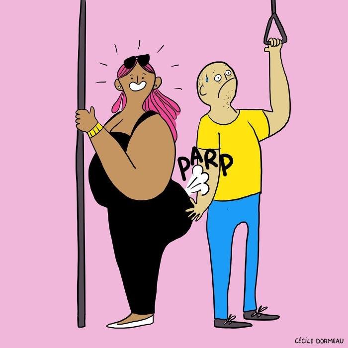 Cartoon - PARP CÉCILE DORMEAU