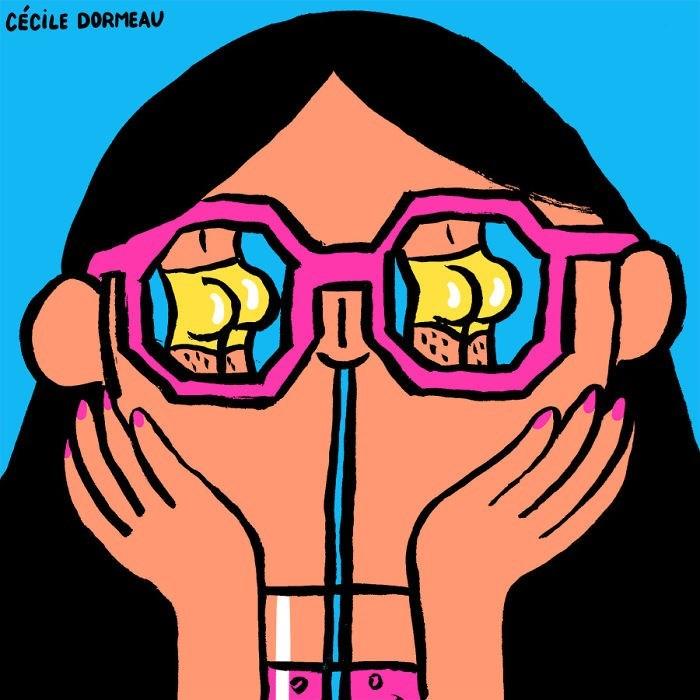 Glasses - CECILE DORMEAU