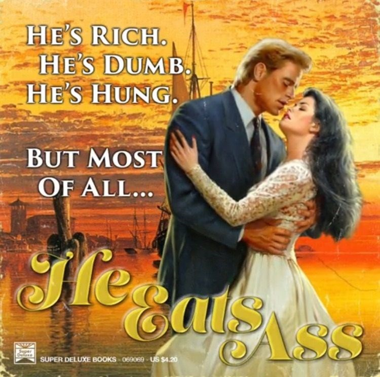 Romance novel that gets right to the point.