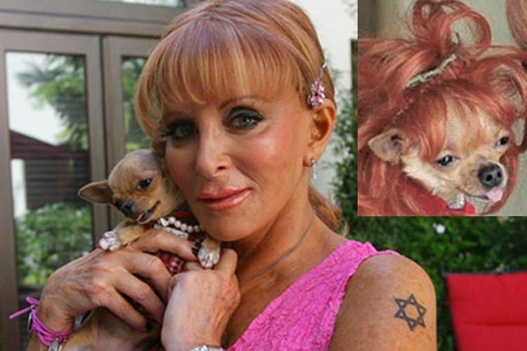Gail Posner who left $3 million to her dogs