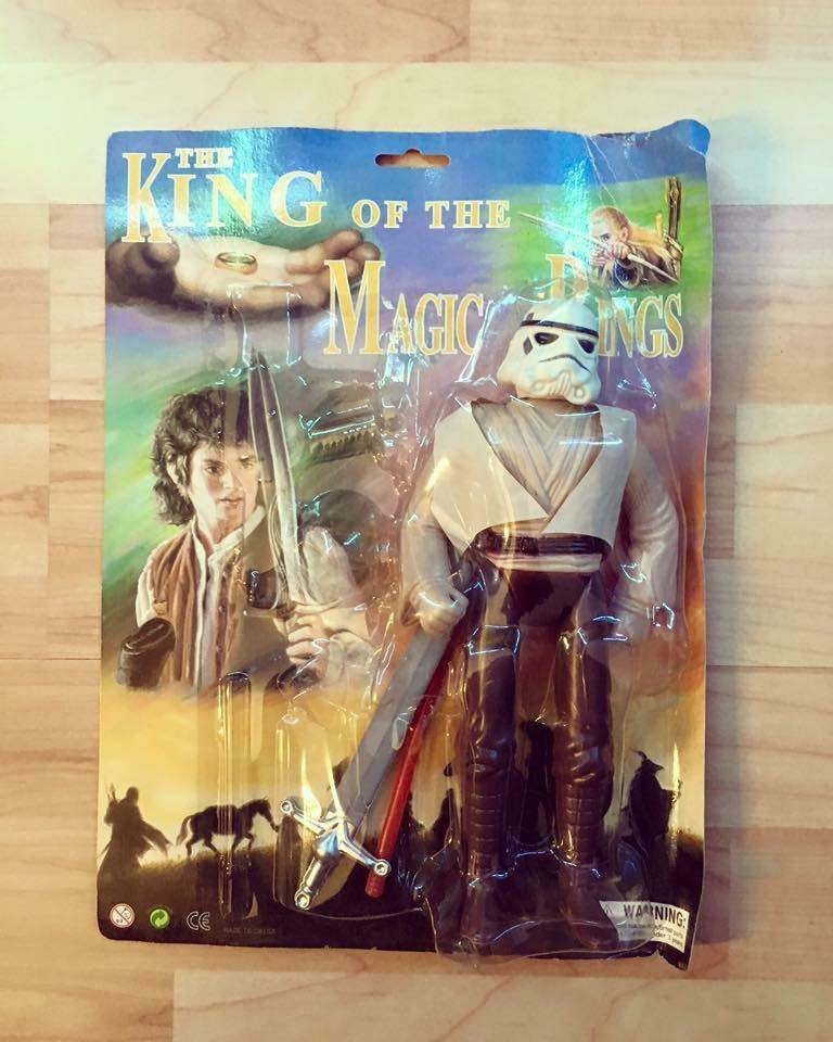 bootleg - Toy - TH KING OF THE INGS WARNING CE ADTC