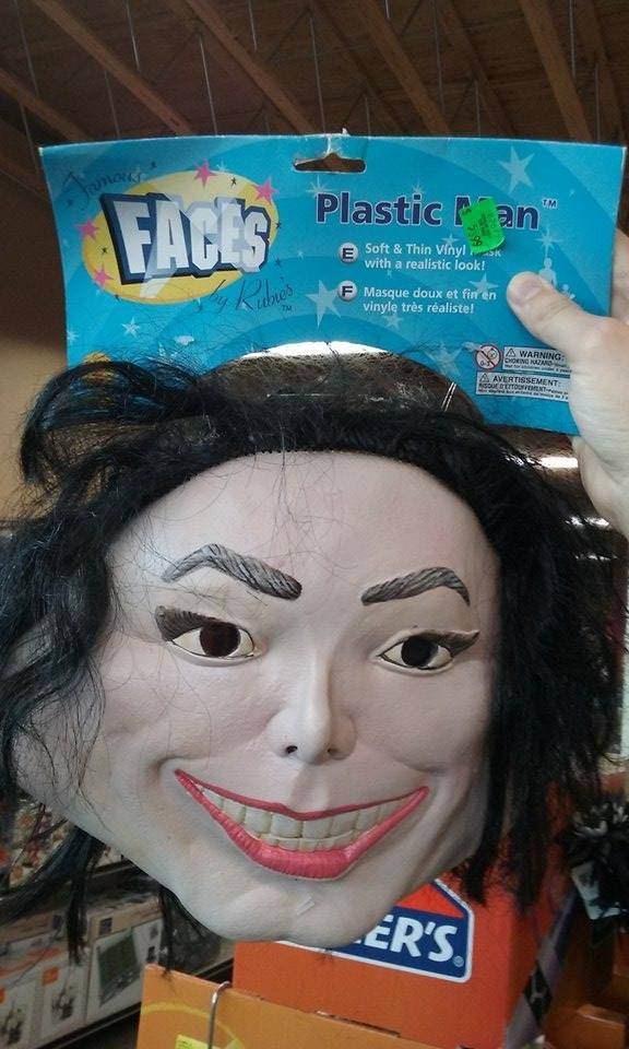 bootleg - Face - Plastic P an famard FACES TM Soft & Thin Vihyl with a realistic look! Masque doux et fin en vinyle très réaliste! dbre's Tu A WARNING: feHORING ZARD AAVERTISSEMENT ER'S