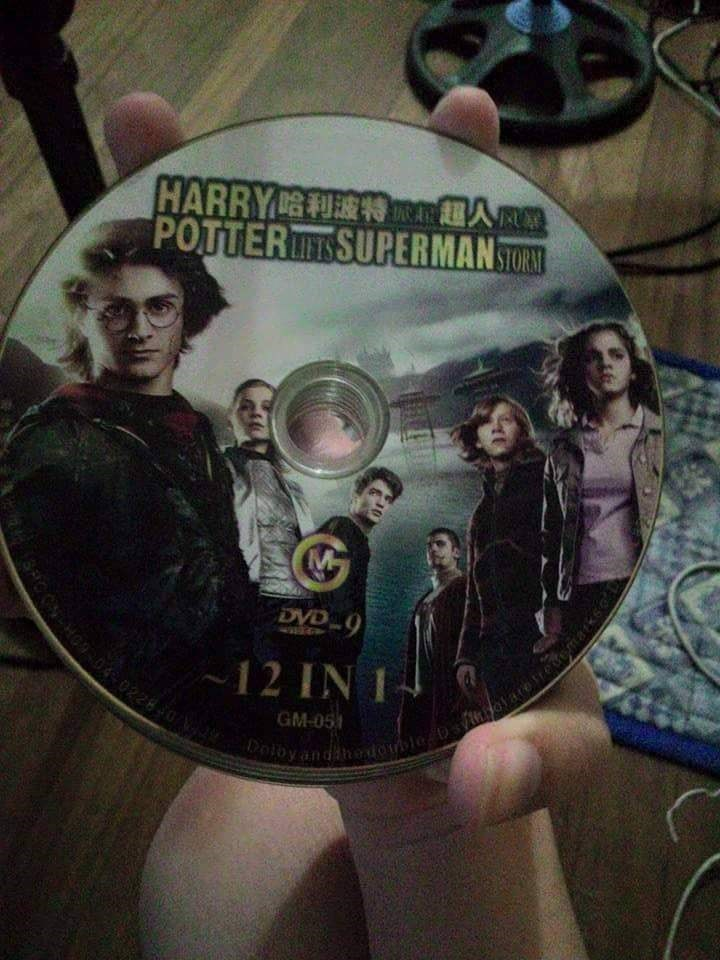 bootleg - Dvd - HARRY RC POTTERTSUPERMAN STORS MC DVD 9 12 IN 1 GM-05 leDvioae Dotoy an