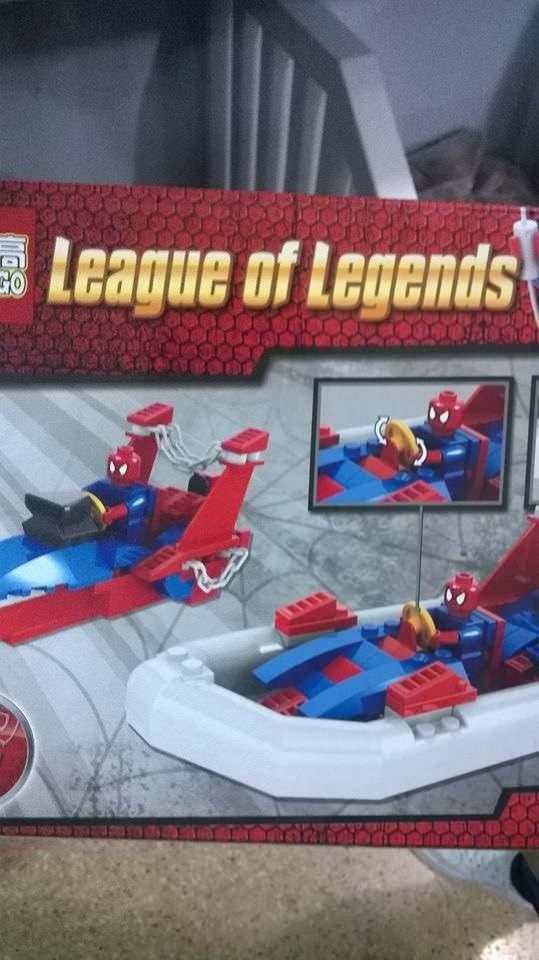bootleg - Spider-man - League of Legends GO