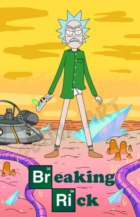 """pic of Rick as Walter White from """"Breaking Bad"""""""