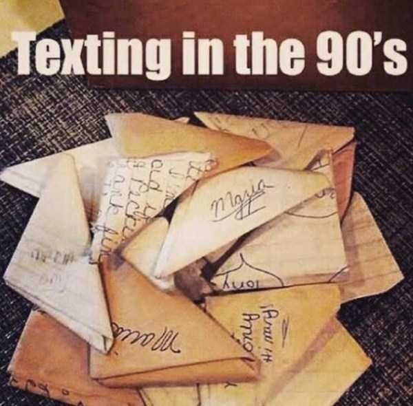 Text - exting in the 90's mgia