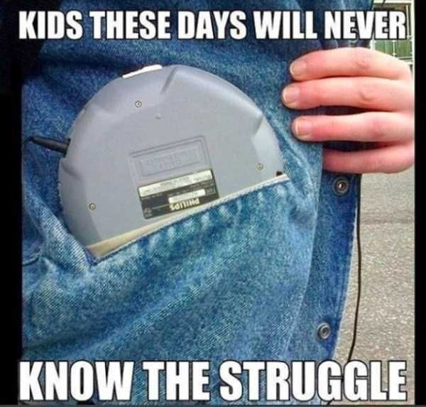 Denim - KIDS THESE DAYS WILL NEVER KNOW THE STRUGGLE