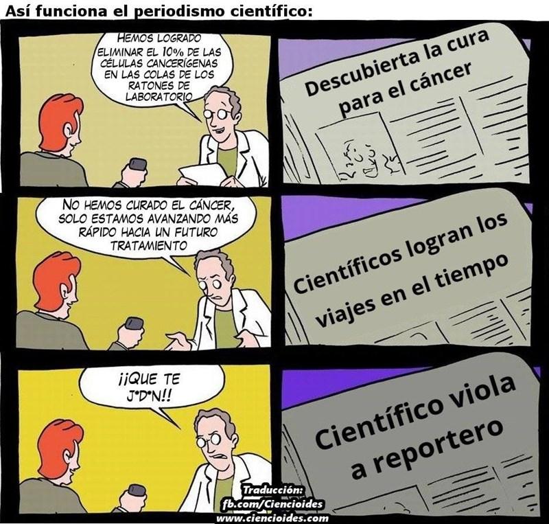 titulares de descubrimientos cientificos
