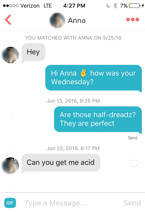 Anna wants some acid