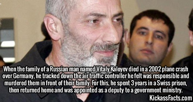 Fact about a murderer who became a government worker in Russia