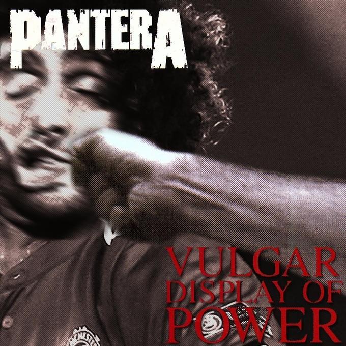 Album cover - PANTERA HUNGAR SDLAY OF ER AST