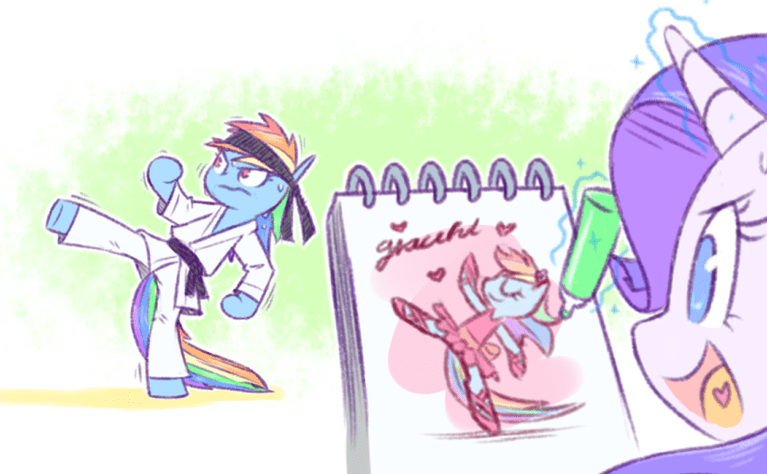 rarity raridash doodles rainbow dash - 9063630336