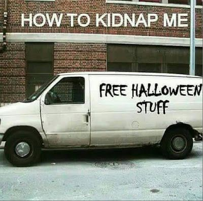 Land vehicle - HOW TO KIDNAP ME FREE HALLOWEEN STUFF
