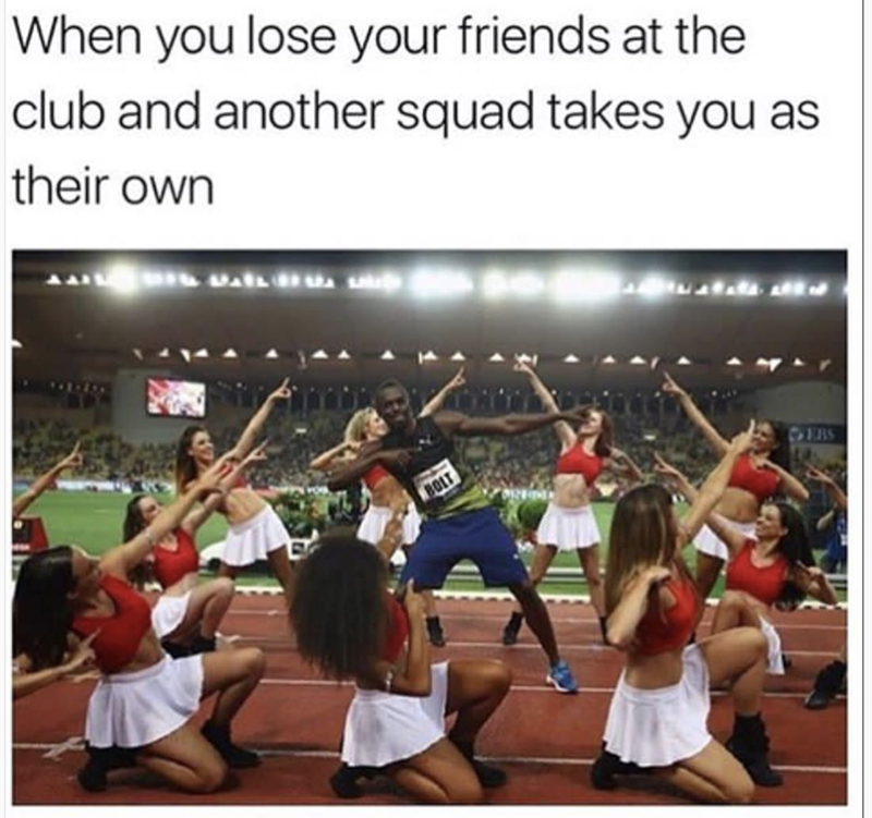 Community - When you lose your friends at the club and another squad takes you as their own EBS BOLT