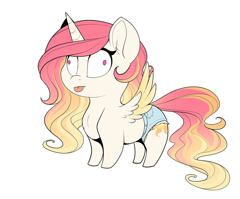 short shorts princess celestia - 9063985408