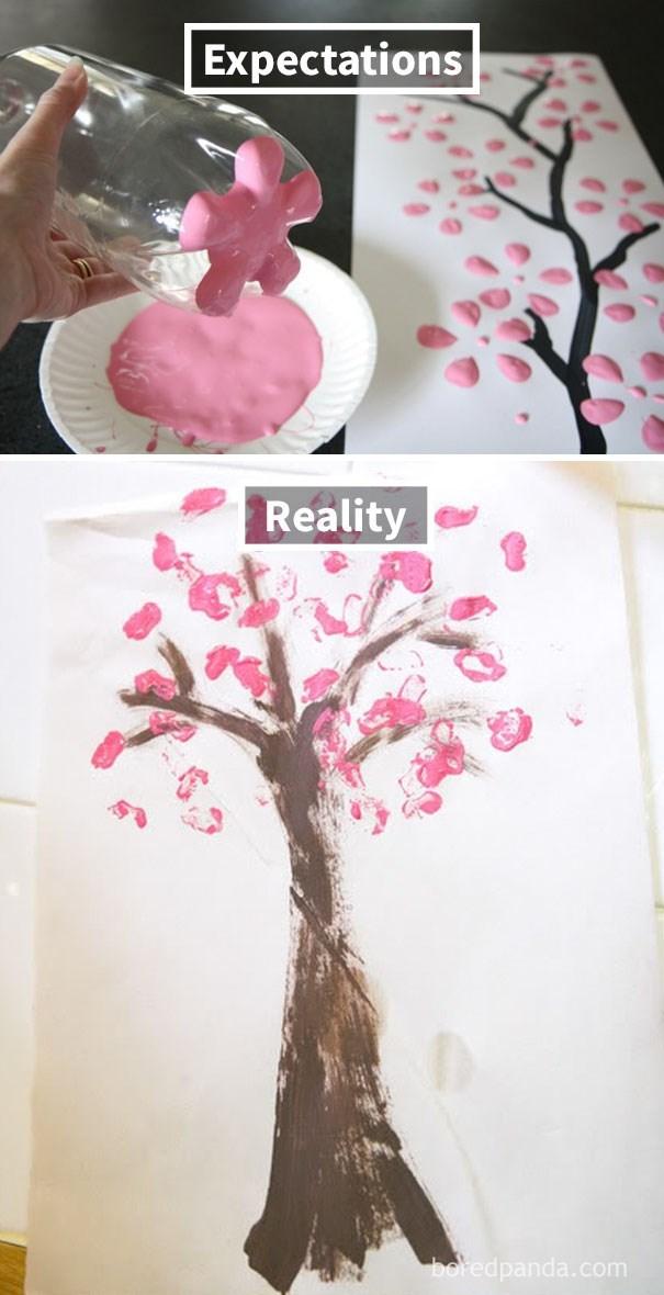 Pink - Expectations Reality boredpanda.com