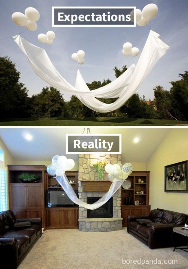 Ceiling - Expectations Reality boredpanda.com