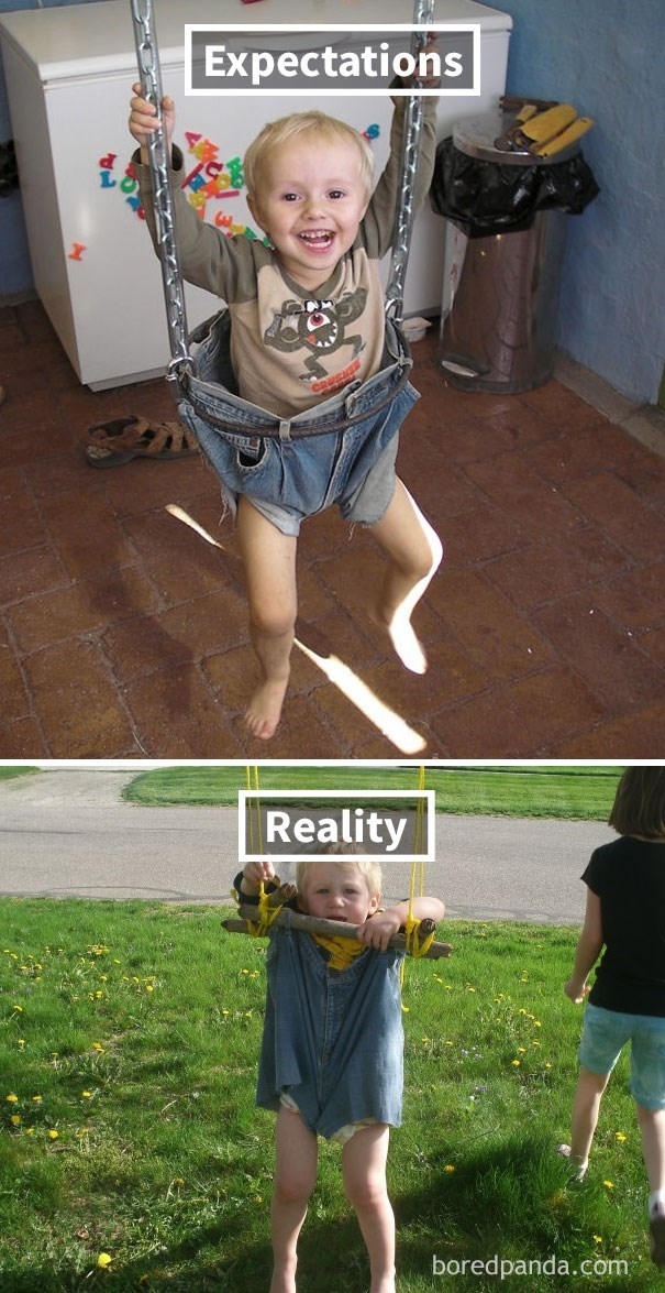 Child - Expectations Reality boredpanda.com