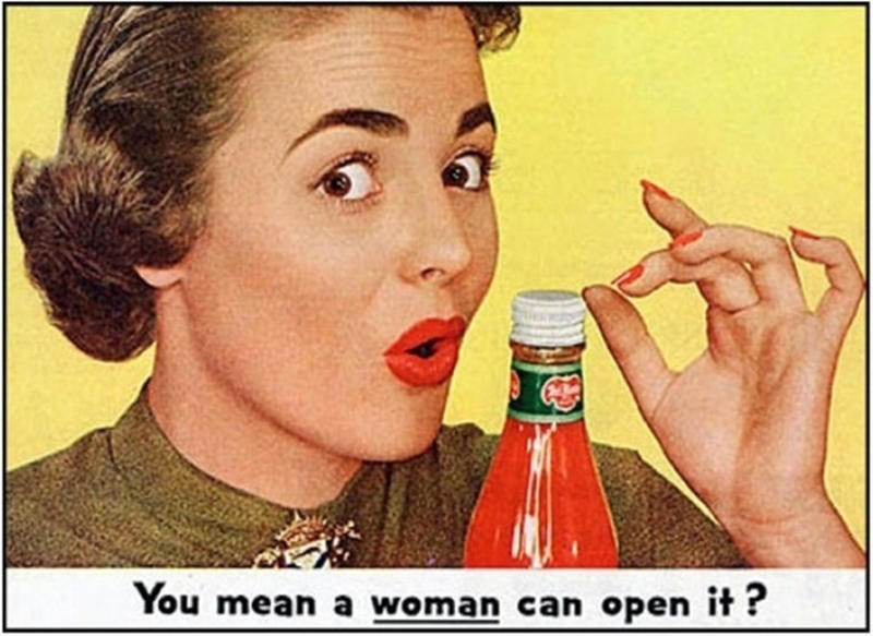 Nose - You mean a woman can open it?