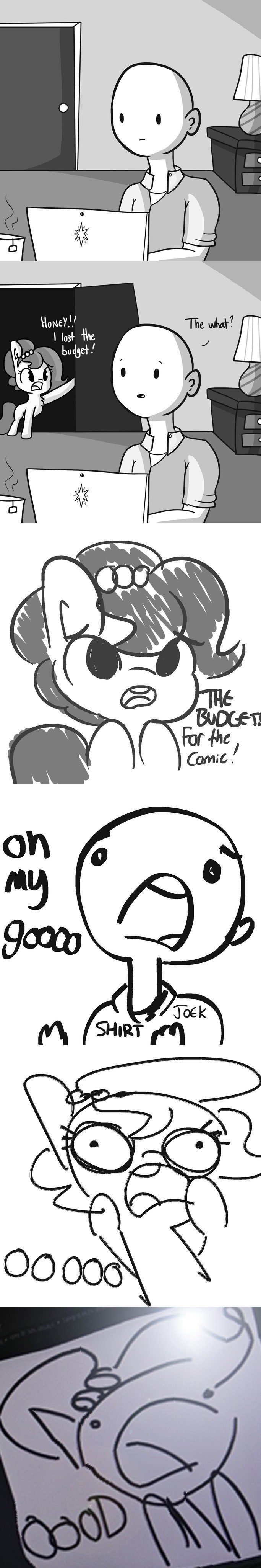 OC tj pones fourth wall comic horse wife - 9064712192
