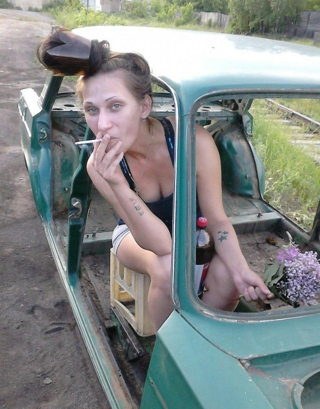 russian girls - Motor vehicle