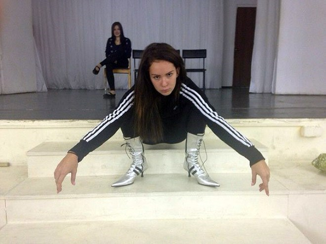 russian girls - Leg