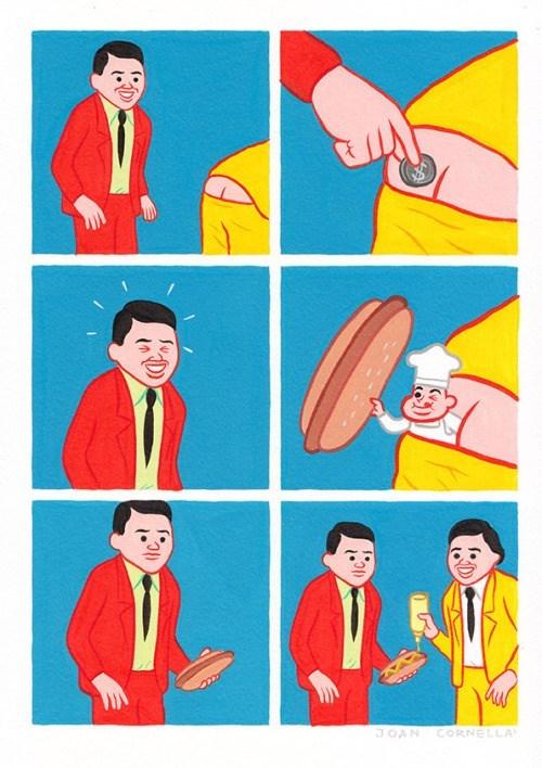chico le mete una moneda al culo a otro por comida