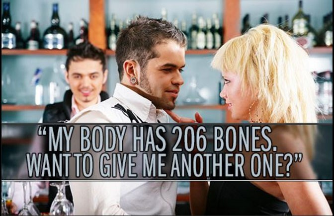 """Movie - """"MY BODY HAS 206 BONES WANT TO GIVE ME ANOTHER ONE?"""