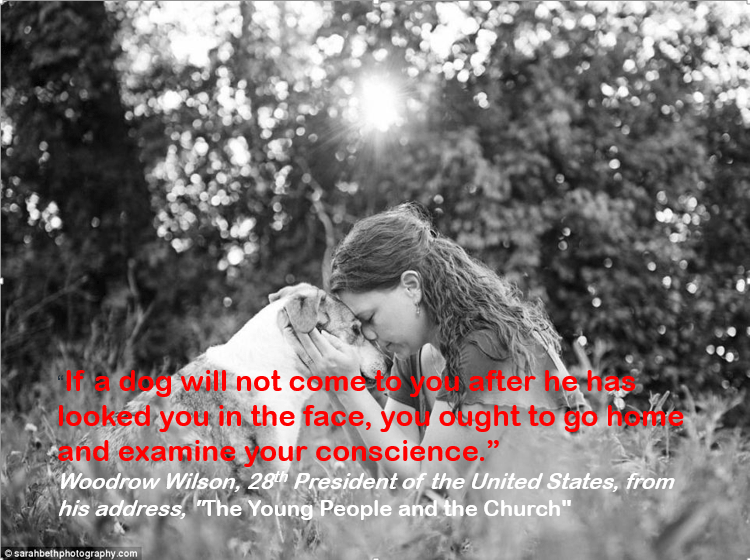 """People in nature - Ta dag will not cometo yoafter he has looked you in the face, yo dught to go heide and examine your conscience. Woodrow Wilson, 28h President of the United States, from his address,The Young People and the Church"""" sarahbethphotography.com"""