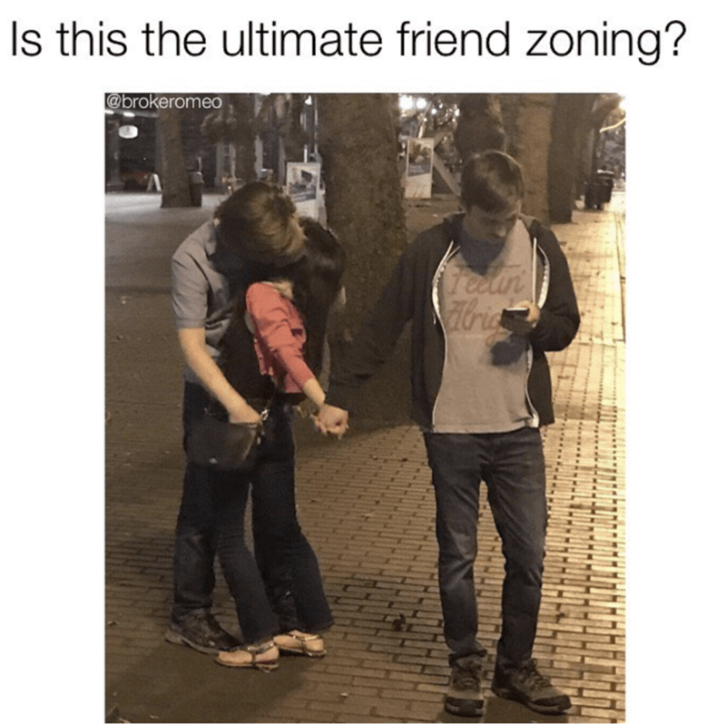 Product - Is this the ultimate friend zoning? @brokeromeo fredn Hdria