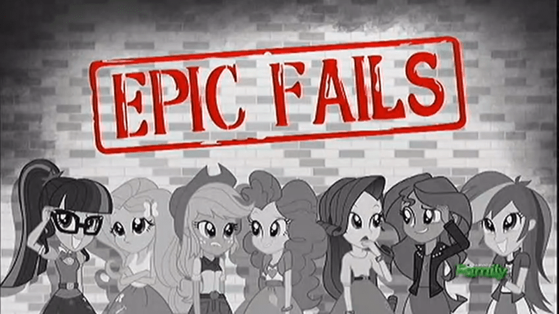 equestria girls summertime shorts epic fails - 9065902592