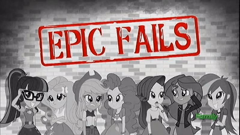 equestria girls summertime shorts epic fails - 9065902592