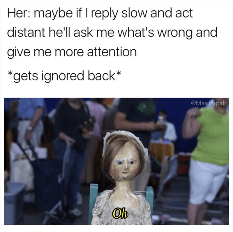 Brutal funny meme about girls trying to be manipulative using text messages and it doesn't work.