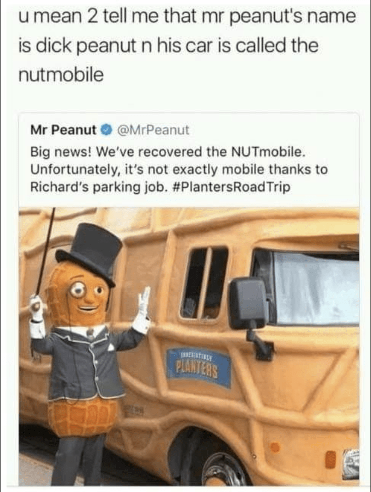 Mr Peanut Meme