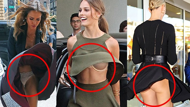 ⚡ famous celebrity wardrobe malfunctions