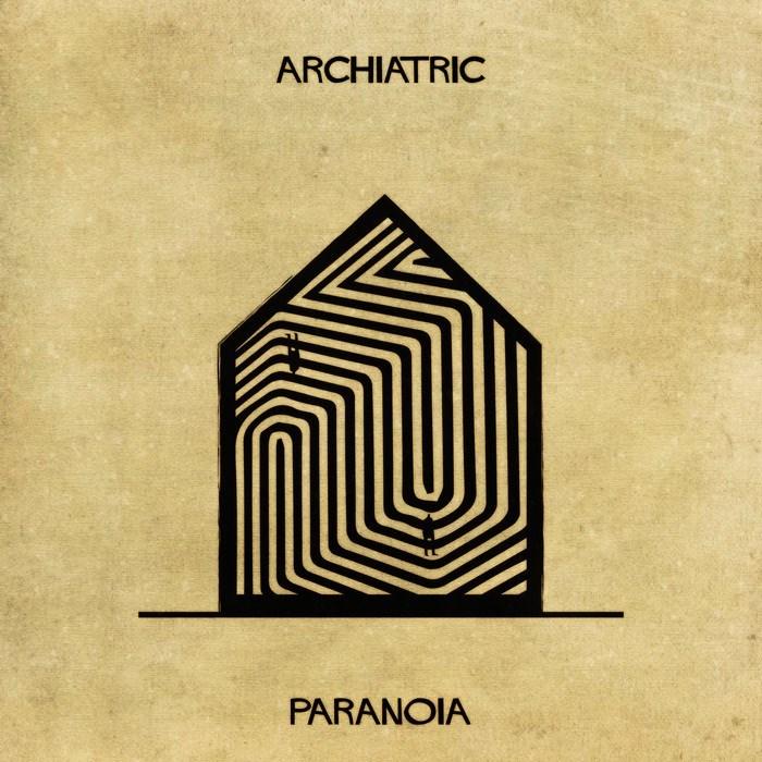 Font - ARCHIATRIC PARANOIA