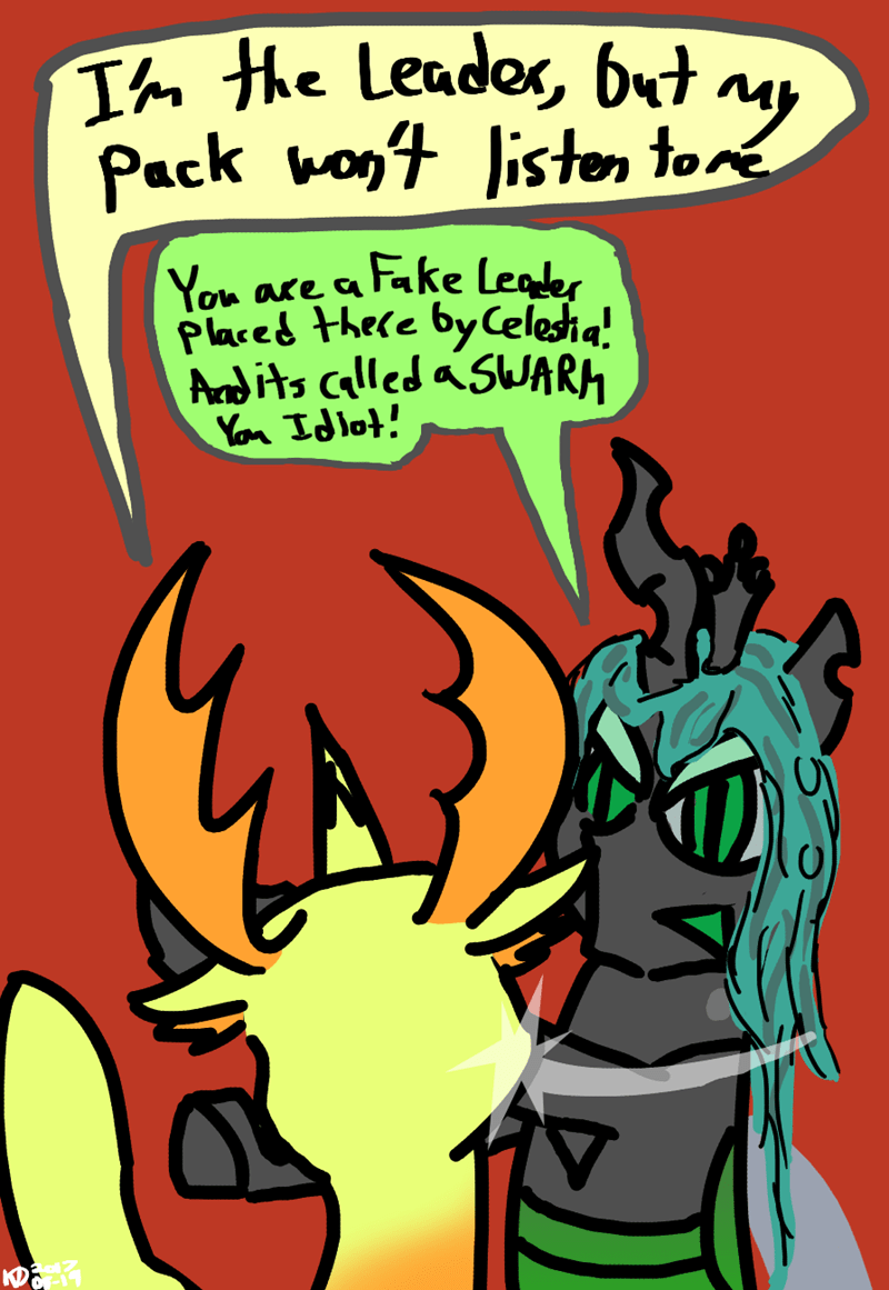 thorax changeling collective triple threat chrysalis changelings opinions - 9066437632