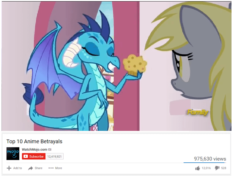 anime derpy hooves screencap triple threat Memes princess ember - 9066466048