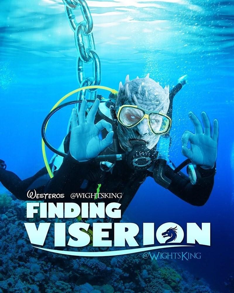 Scuba diving - ESTEROS @WIGHTSKING FINDING VISERION @WIGHTSKING