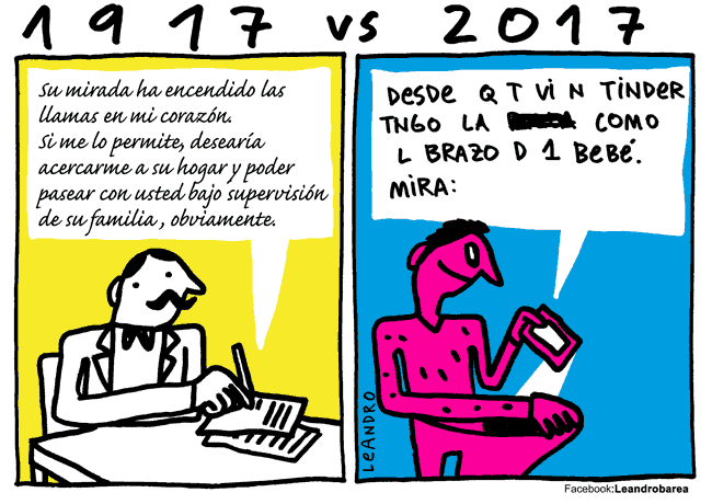 romanticismo 1917 comparado 2017