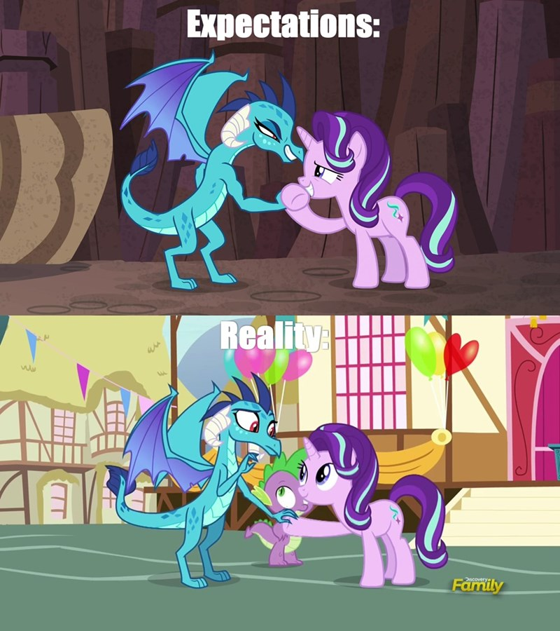 celestial advice starlight glimmer screencap triple threat comic princess ember - 9067420672
