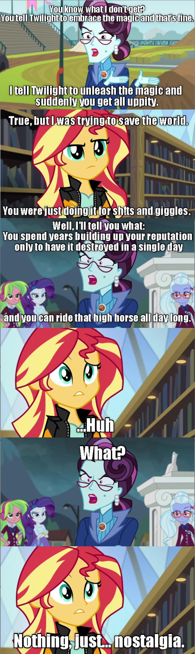 equestria girls screencap comic sunset shimmer friendship games - 9067576832