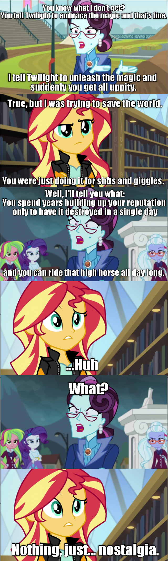 principal cinch equestria girls screencap comic sunset shimmer friendship games - 9067576832