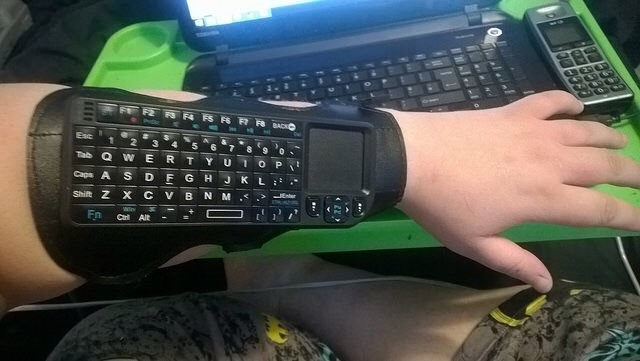 Arm keyboard