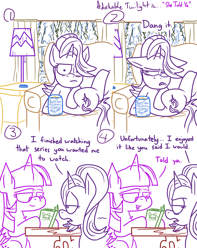 starlight glimmer twilight sparkle comic adorkable twilight and friends - 9067874560